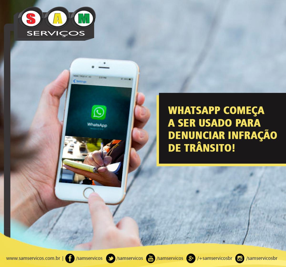multa de trânsito aplicada pelo whatsapp em sp